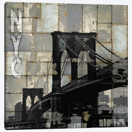 NYC Industrial I Canvas Print #DYM16} by Dylan Matthews Canvas Art Print