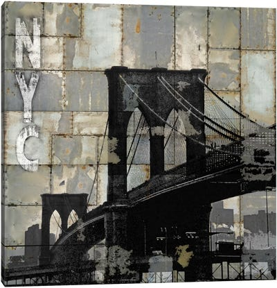 NYC Industrial I Canvas Art Print