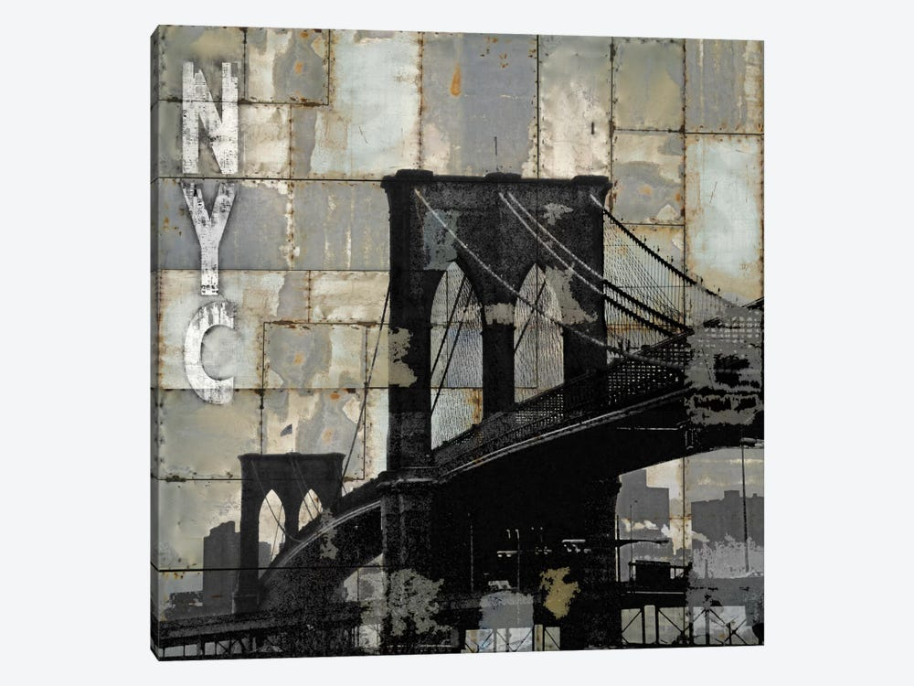 NYC Industrial I by Dylan Matthews 1-piece Canvas Wall Art