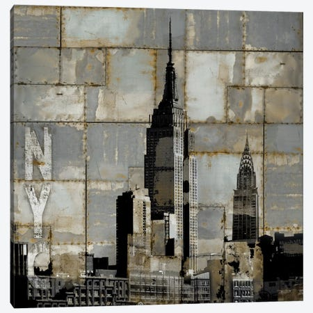 NYC Industrial II Canvas Print #DYM17} by Dylan Matthews Art Print