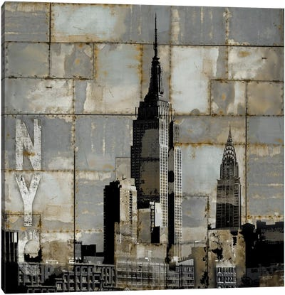 NYC Industrial II Canvas Art Print