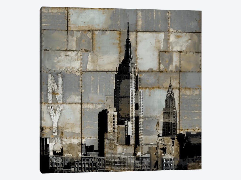 NYC Industrial II by Dylan Matthews 1-piece Canvas Art Print