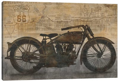 Ride Canvas Art Print
