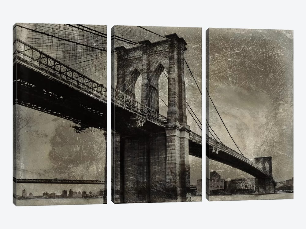 Bridge I by Dylan Matthews 3-piece Canvas Art