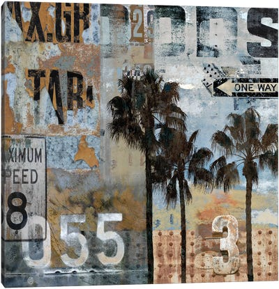 Urban Textures Canvas Art Print