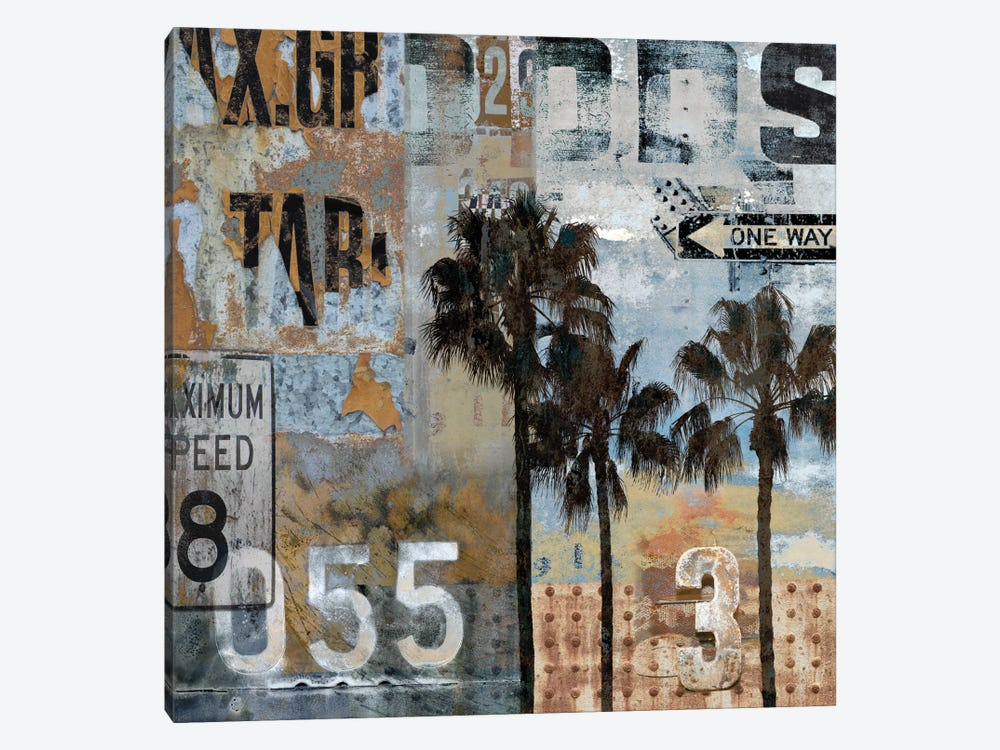 Urban Textures by Dylan Matthews 1-piece Canvas Wall Art