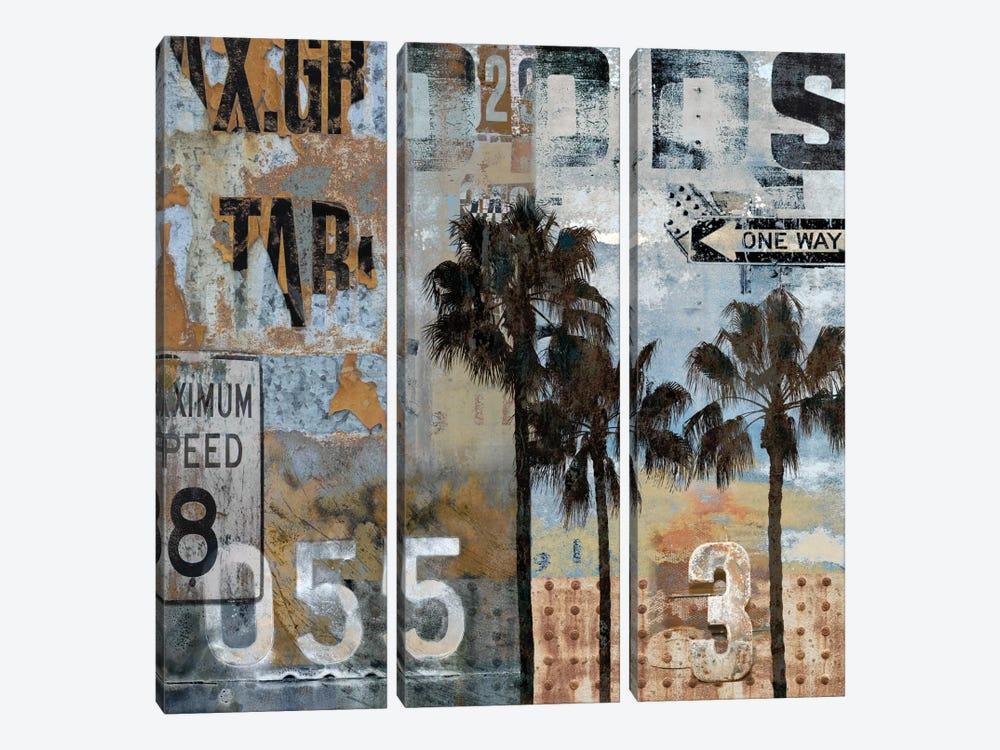Urban Textures by Dylan Matthews 3-piece Canvas Wall Art