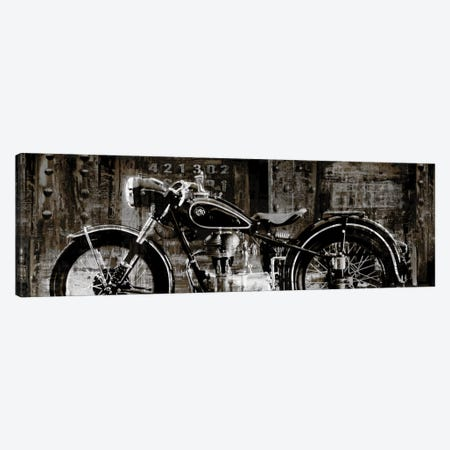 Vintage Motorcycle Canvas Print #DYM23} by Dylan Matthews Canvas Art Print