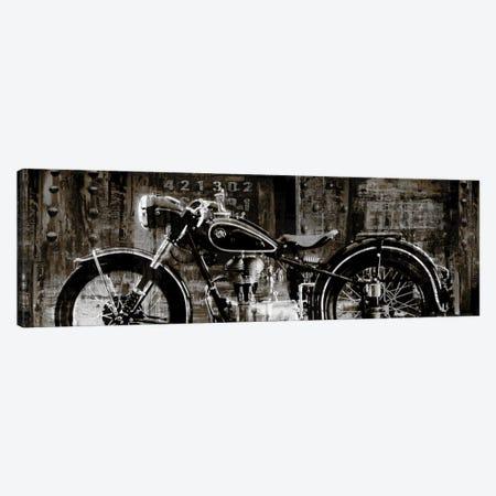 Vintage Motorcycle Canvas Print #DYM23} by Dylan Matthews Canvas Art Print