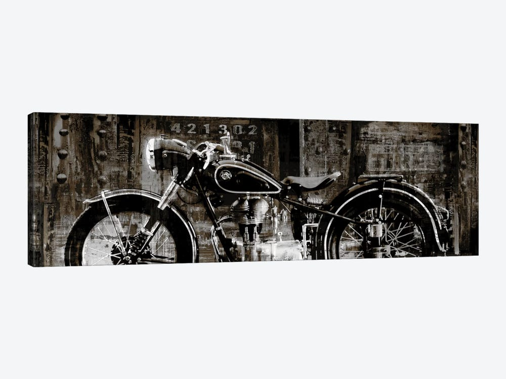 Vintage Motorcycle by Dylan Matthews 1-piece Canvas Wall Art