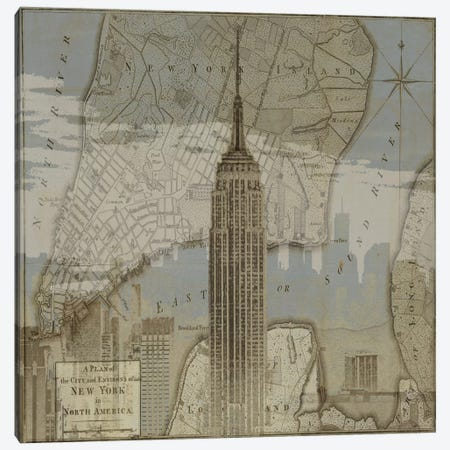 Vintage NYC I Canvas Print #DYM26} by Dylan Matthews Canvas Art