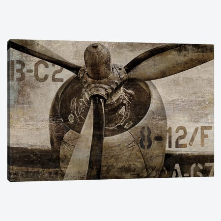 Vintage Propeller Canvas Print #DYM28} by Dylan Matthews Canvas Art Print