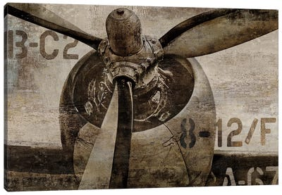 Vintage Propeller Canvas Art Print