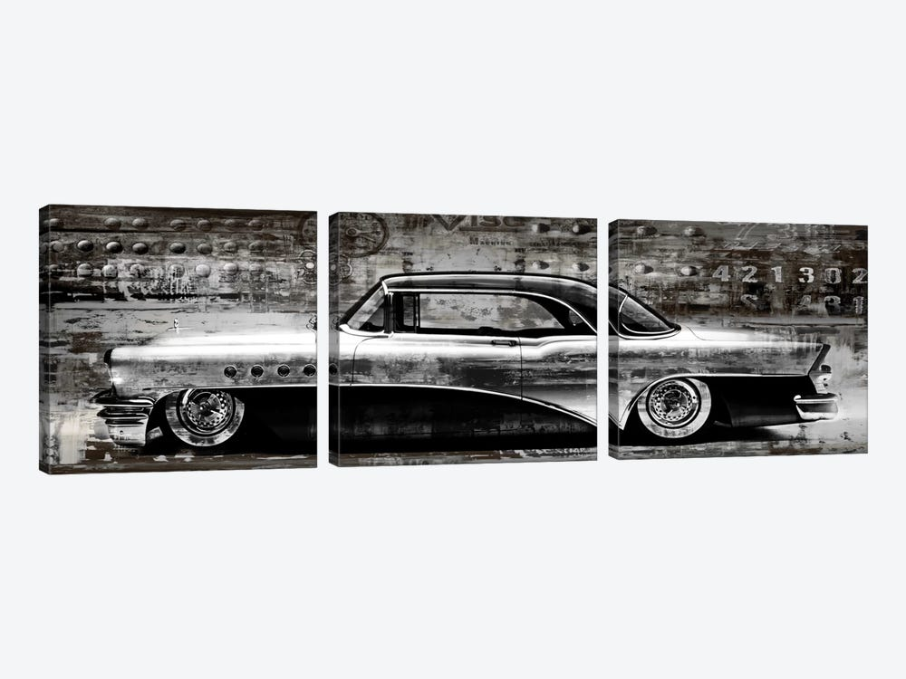 Classic Ride by Dylan Matthews 3-piece Canvas Art Print