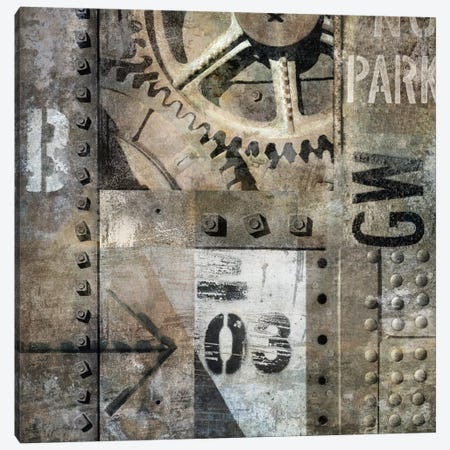 Industrial I Canvas Print #DYM6} by Dylan Matthews Art Print
