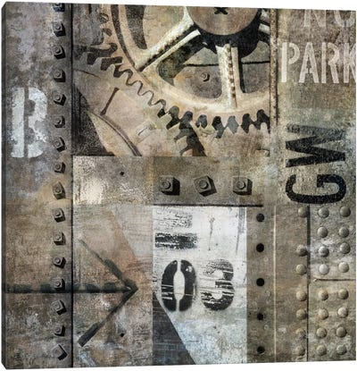 Industrial I Canvas Art Print