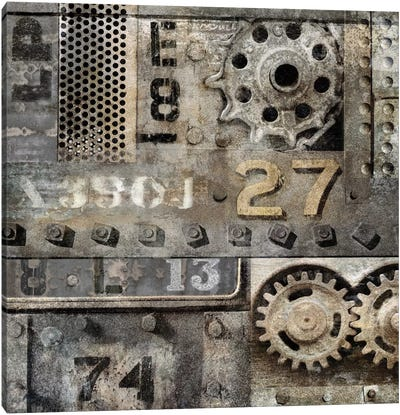 Industrial II Canvas Art Print