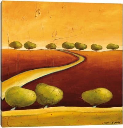 Roads I Canvas Art Print