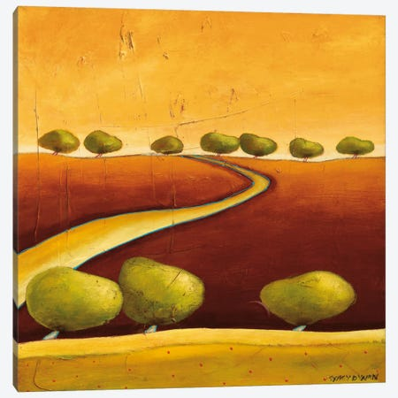 Roads I Canvas Print #DYN5} by Stacy Dynan Canvas Artwork