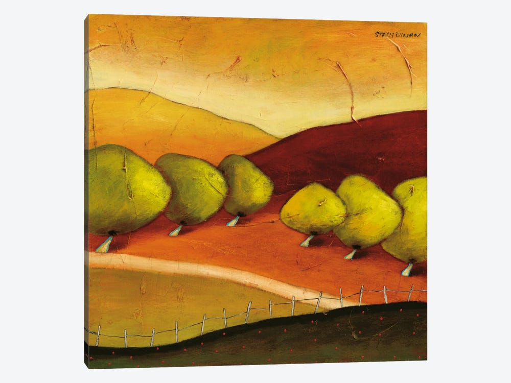 Roads II by Stacy Dynan 1-piece Canvas Wall Art