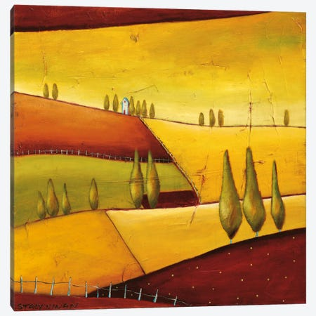 Roads III Canvas Print #DYN7} by Stacy Dynan Canvas Art