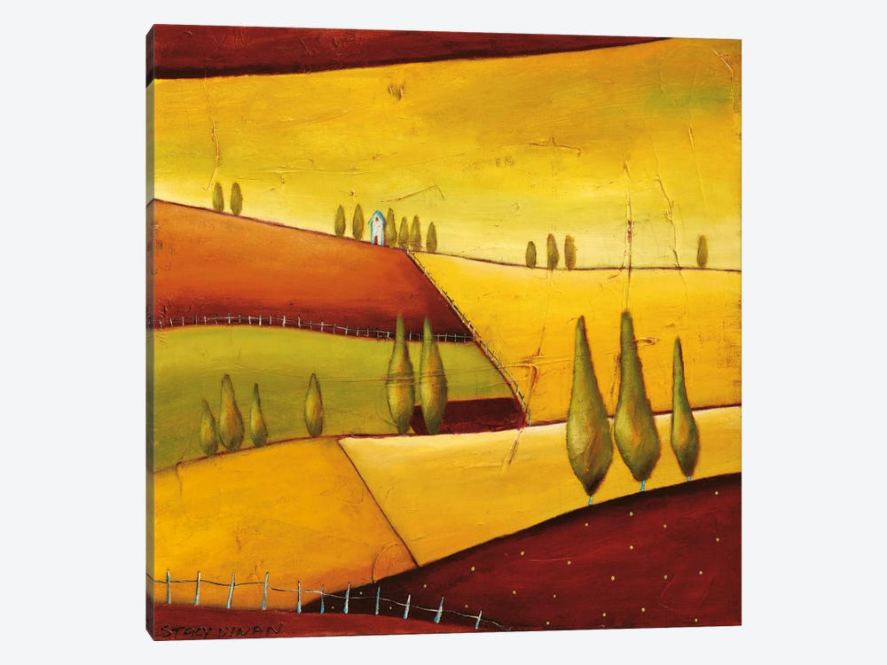 Roads III by Stacy Dynan 1-piece Canvas Print