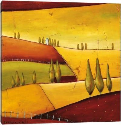 Roads III Canvas Art Print