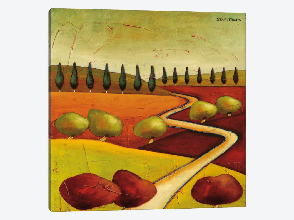 Roads IV by Stacy Dynan 1-piece Canvas Wall Art