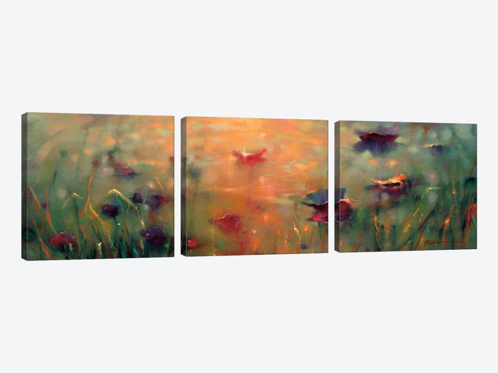 Mystical Memory by Donna Young 3-piece Art Print