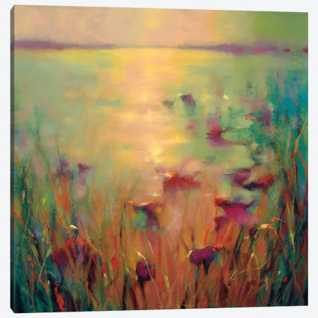 Morning Canvas Print #DYO3} by Donna Young Canvas Artwork