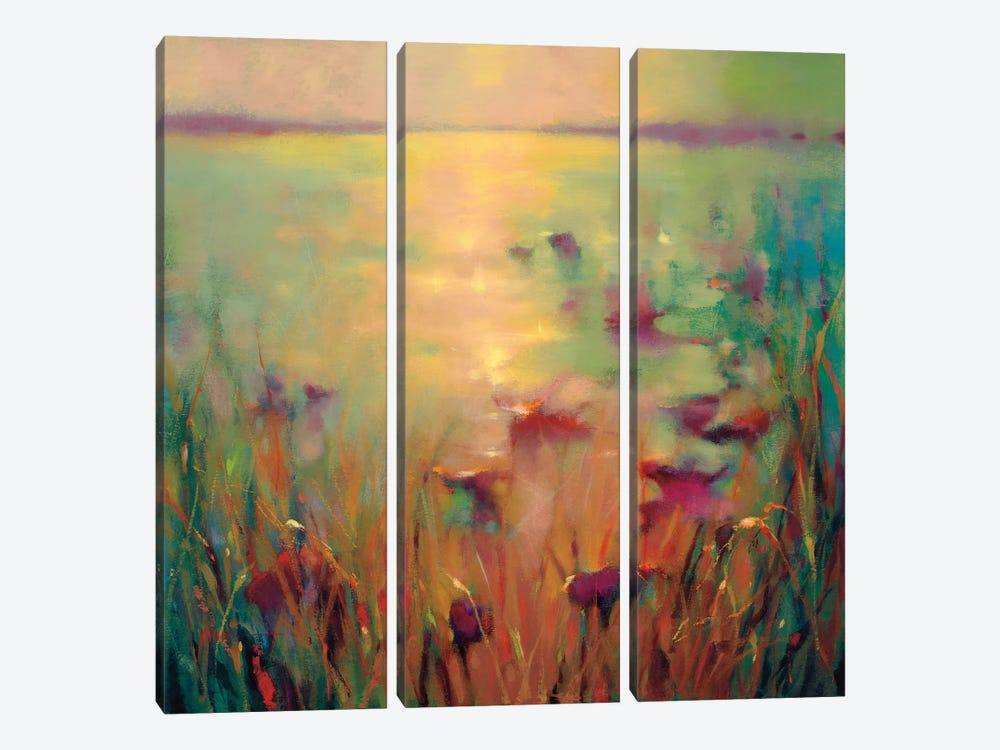Morning by Donna Young 3-piece Canvas Wall Art