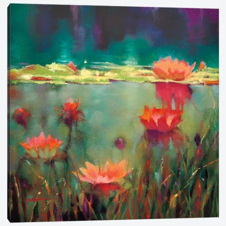 Nightfall Canvas Print #DYO4} by Donna Young Art Print