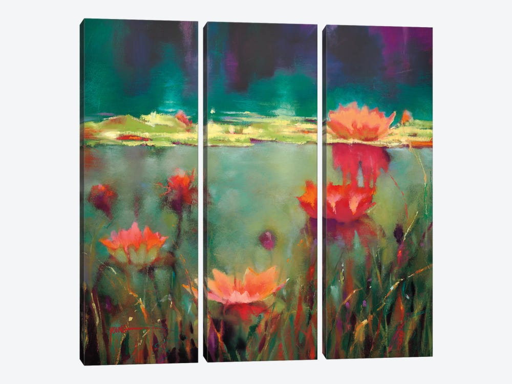 Nightfall by Donna Young 3-piece Canvas Art Print