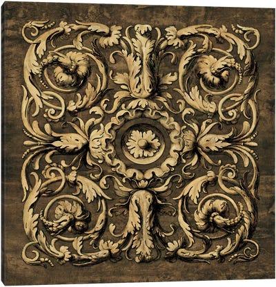 Classic Scroll II Canvas Art Print