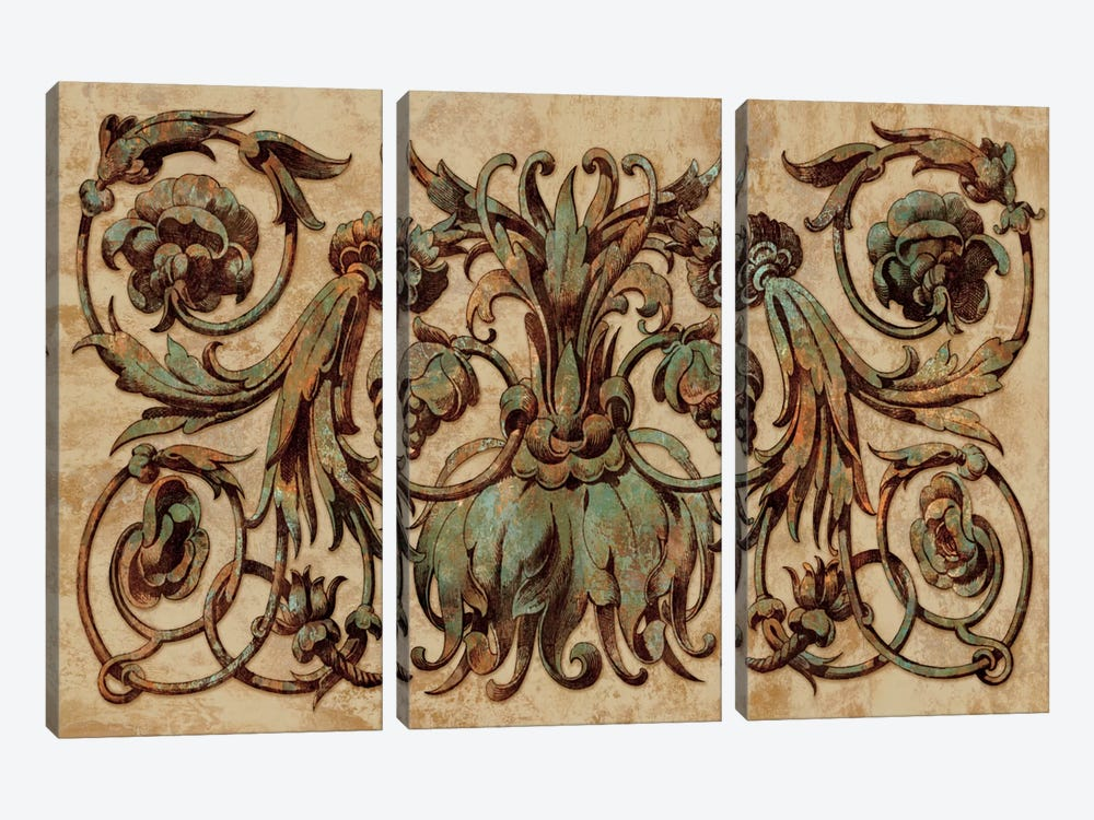 Patina I by Dylan Wright 3-piece Canvas Art