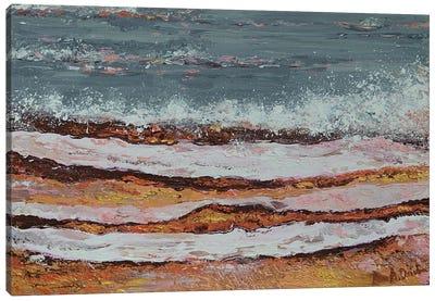 Breaking Waves III Canvas Art Print