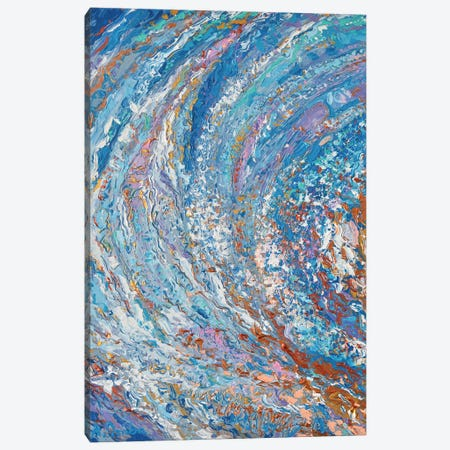 Crystal Wave Canvas Print #DZB12} by Adriana Dziuba Canvas Art Print