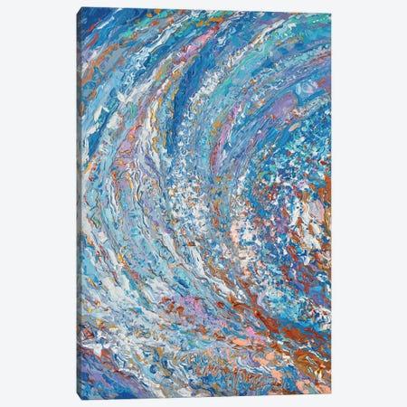 Crystal Wave Canvas Print #DZB12} by Adriana Dziuba Canvas Art Print