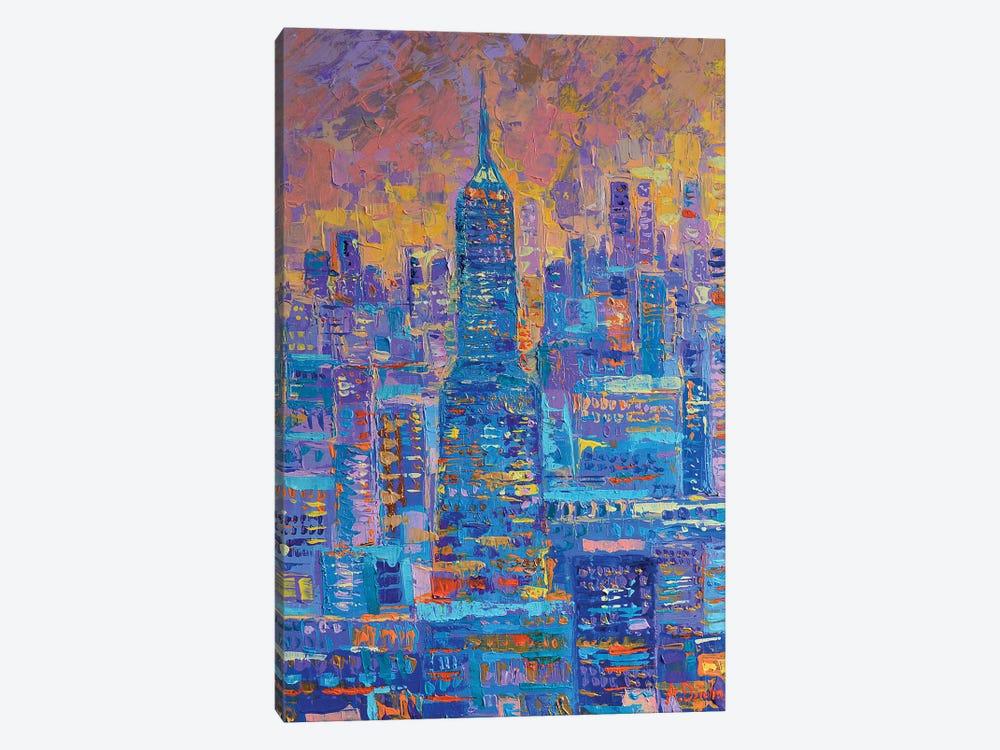 Manhattan by Adriana Dziuba 1-piece Canvas Art