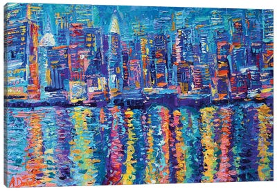 New York The City That Never Sleeps Canvas Art Print