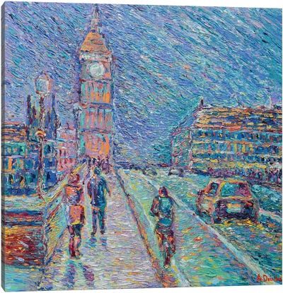 Streets of London Canvas Art Print