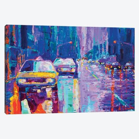 Streets of New York II Canvas Print #DZB36} by Adriana Dziuba Canvas Wall Art