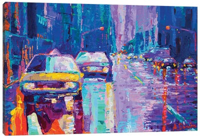 Streets of New York II Canvas Art Print
