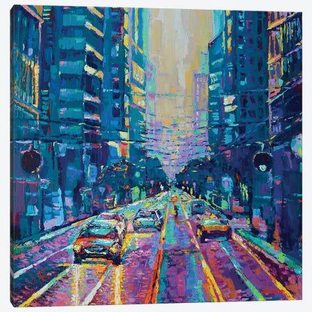 Streets of San Francisco I Canvas Print #DZB37} by Adriana Dziuba Canvas Wall Art