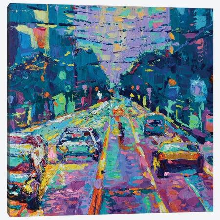 Streets of San Francisco II Canvas Print #DZB38} by Adriana Dziuba Canvas Print