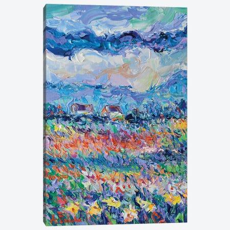 Summer Meadow Canvas Print #DZB39} by Adriana Dziuba Canvas Art Print
