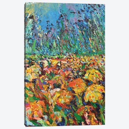 Wild Meadow Canvas Print #DZB46} by Adriana Dziuba Canvas Art Print