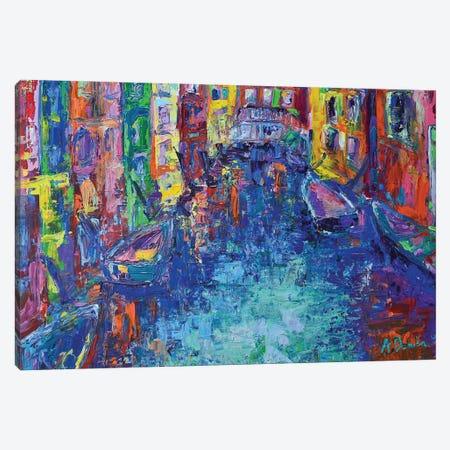 City of Canals Canvas Print #DZB8} by Adriana Dziuba Canvas Art