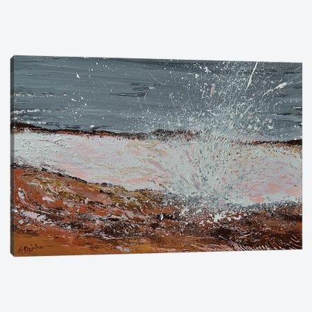 Breaking Waves I Canvas Print #DZB9} by Adriana Dziuba Canvas Art