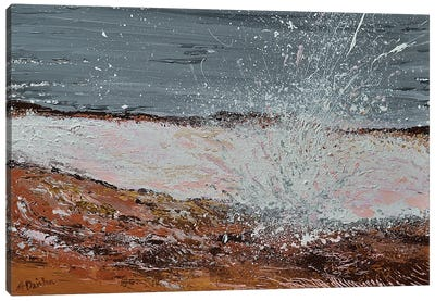 Breaking Waves I Canvas Art Print